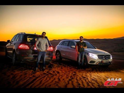 اليمن اليوم- بالفيديو تحدي مرسيدس الجديد للسرعة بين الرمال