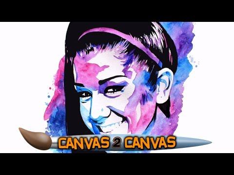 اليمن اليوم- بالفيديو رسام الاتحاد يبدع برسم لوحة فنية جديدة للمصارعة بايلي