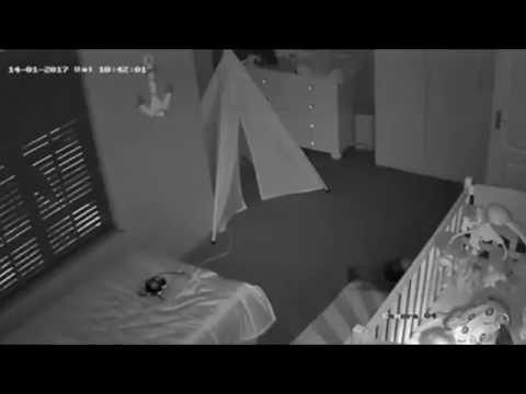 اليمن اليوم- شاهد ماذا فعلت أم للخروج من غرفة طفلها النائم