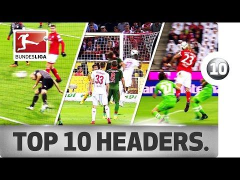 اليمن اليوم- أفضل 10 كرات بالرأس في الدوري الألماني