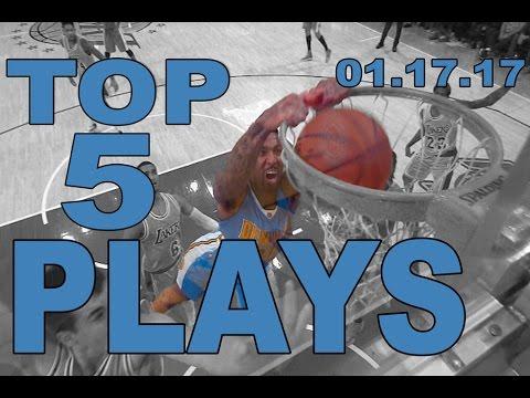 اليمن اليوم- أبرز اللقطات في مباريات دوري السلة الأميركي