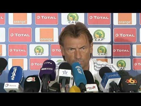 اليمن اليوم- مدرب المنتخب المغربي سشدد على الفوز على الطوغو