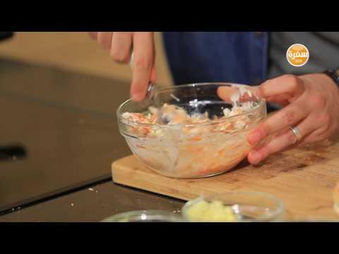 اليمن اليوم- شاهد طريقة إعداد ساندويتش ستربس كرسيبي