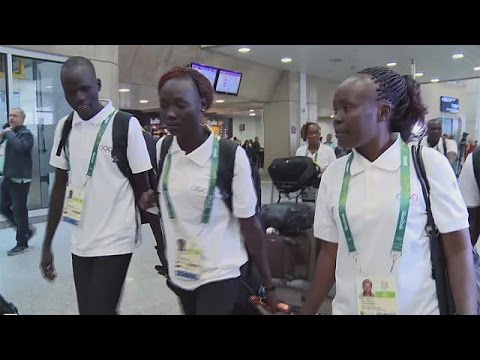 اليمن اليوم- الرياضيون اللاجئون يشاركون في ريو دي جانيرو