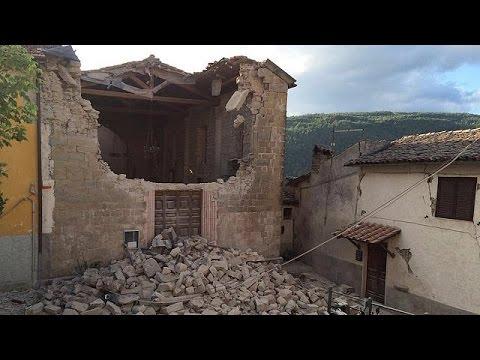 اليمن اليوم- شاهد الزلازل مأساة إيطاليا التاريخية