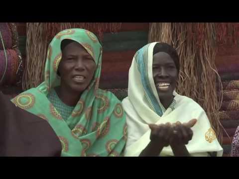 اليمن اليوم- شاهد إبداعات للمرأة السودانية في ولاية جنوب كردفان