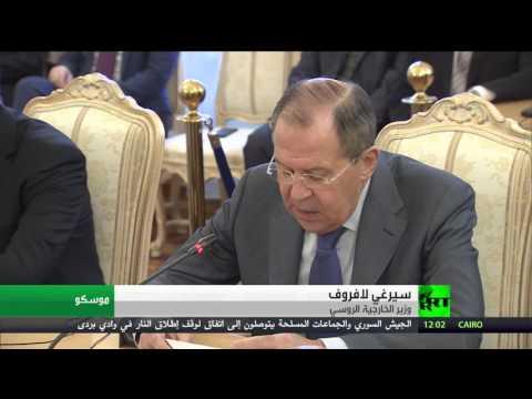 اليمن اليوم- لافروف يؤكد دخول مرحلة مهمة من مباحثات جنيف