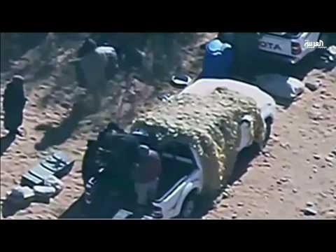 اليمن اليوم- البنتاغون ينشر مقطع فيديو لاستهداف داعش في ليبيا