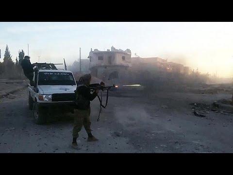 اليمن اليوم- شاهد قوات سورية الديمقراطية تحقق تقدما ضد  داعش