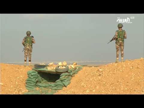 اليمن اليوم- شاهد تداعياتِ اشتباكاتِ درعا السورية على الرمثا