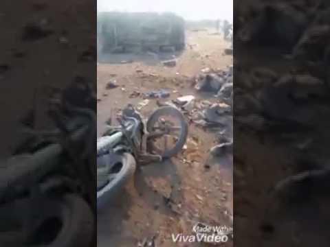 اليمن اليوم- بالفيديو 45 قتيلًا في انفجار سيارة مفخخة قرب مدينة الباب السورية