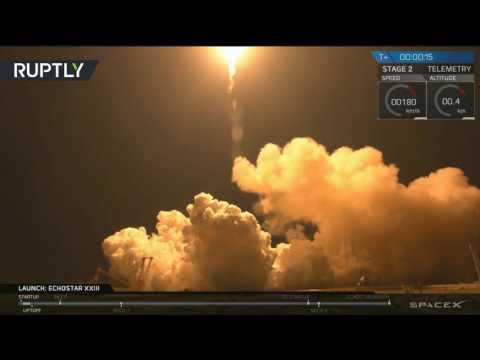اليمن اليوم- شاهد إطلاق ناجح لصاروخ فالكون 9 الأميركي
