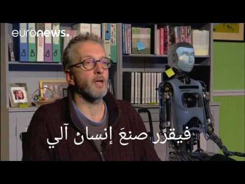 اليمن اليوم- شاهد إنسان آلي في بطولة عرض مسرحي