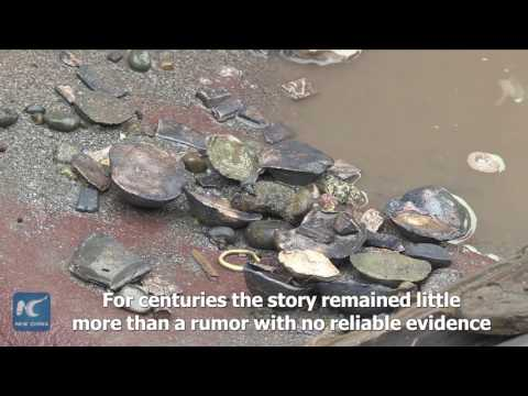 اليمن اليوم- شاهد اكتشاف الكنز الغارق في الصين