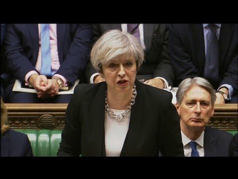 اليمن اليوم- رئيسة وزراء بريطانيا تتحدى الإرهاب