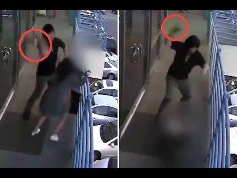 اليمن اليوم- شاب يعتدي بوحشية على امرأة بمطرقة