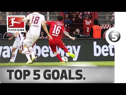 اليمن اليوم- أفضل 5 أهداف في الجولة 25 من البوندزليغا