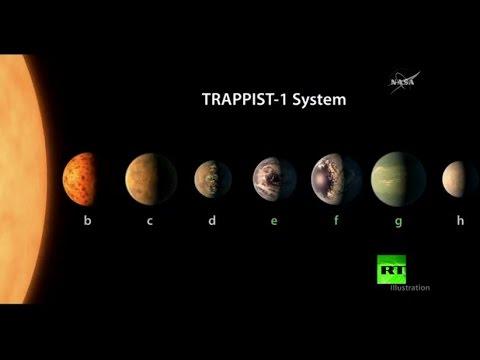 اليمن اليوم- اكتشاف مجموعة شمسية تضم 7 كواكب شبيهة بالأرض