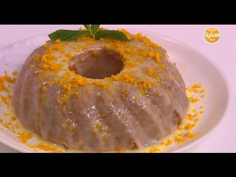 اليمن اليوم- بالفيديو طريقة إعداد ومقادير كيك زيت الزيتون وجليز البرتقال