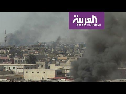 اليمن اليوم- شاهد العبادي يُطالب بتغيير قواعد الاشتباك بعد كارثة الموصل