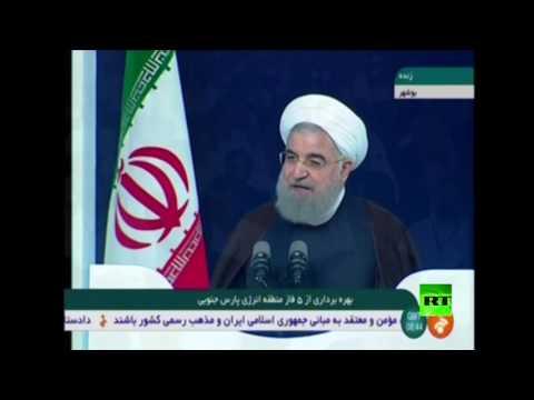 اليمن اليوم- شاهد طهران تطلق مشروعات غاز في الخليج