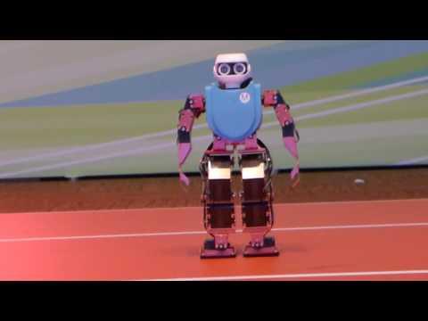 اليمن اليوم- روبوت يستعرض مهارته في الرقص في هونغ كونغ