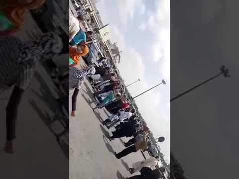 اليمن اليوم- زفة شعبية لعروس داخل مطار القاهرة
