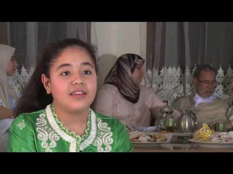 اليمن اليوم- شاهد لينا الشيخ فنانة مغربية تجيد الموسيقى الأندلسية