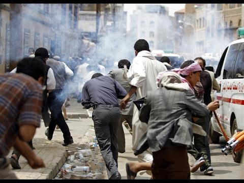 اليمن اليوم- شاهد هيومن رايتس ووتش تتهم المتمردين في اليمن باستخدام ألغام محظورة