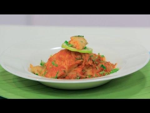 اليمن اليوم- شاهد طريقة بسيطة لتحضير وجبة سمك بالكاري