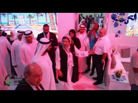 اليمن اليوم- شاهد افتتاح معرض سوق السفر العربي في دبي 2017