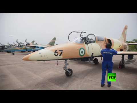 اليمن اليوم- شاهد القوة الجوية النيجيرية تعرض مقاتلاتها الجديدة