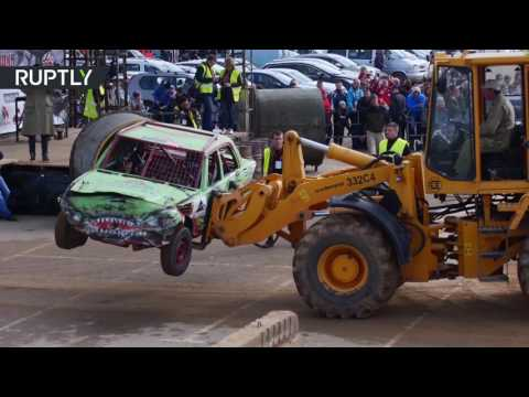 اليمن اليوم- شاهد انطلاق سباق للسيارات يحمل إسم معركة  في مينسك