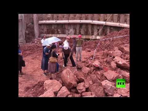 اليمن اليوم- شاهد اكتشاف بيض لديناصورات في الصين