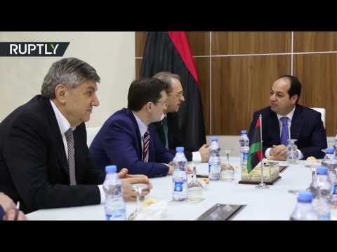 اليمن اليوم- بالفيديو نائب وزير الخارجية الروسي ميخائيل بوغدانوف يزور ليبيا