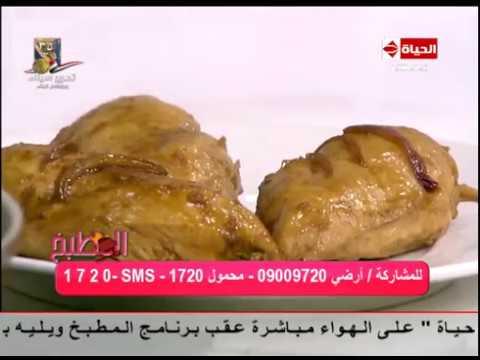 اليمن اليوم- بالفيديو طريقة إعداد ومقادير الدجاج بصوص البرتقال