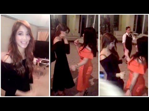 اليمن اليوم- بالفيديو أسيل عمران تشعل عيد ميلاد صديقتها بوصلة رقص مميّزة