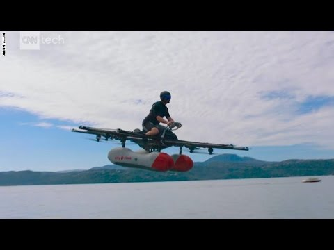 اليمن اليوم- بالفيديو السيارة الطائرة لم تعد حلمًا