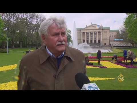 اليمن اليوم- شاهد احتفالات ورسائل مهرجان زهرة الربيع في بولندا