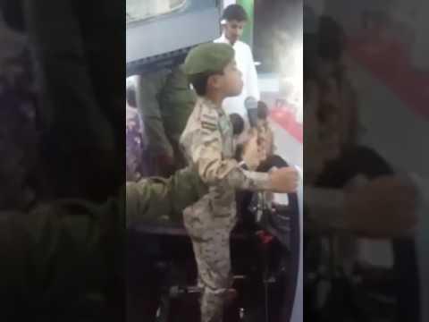 اليمن اليوم- شاهد لحظة سقوط طفل مغشيًا عليه