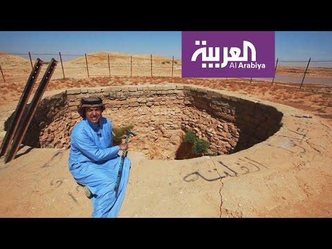 اليمن اليوم- شاهد كيفية حفر بئر بعمق ربع كلم