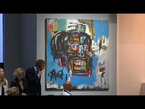 اليمن اليوم- شاهد بيع لوحة للرسام الأميركي الراحل باسكيا بـ110 ملايين دولار