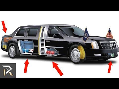 اليمن اليوم- شاهد سيارة الرئيس الأميركي دونالد ترامب المضادة للهجمات النووية