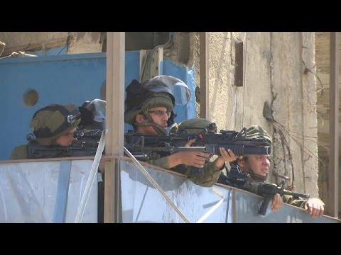 اليمن اليوم- بالفيديو مقتل فلسطيني برصاص الجيش الإسرائيلي عند حاجز قرب بيت لحم