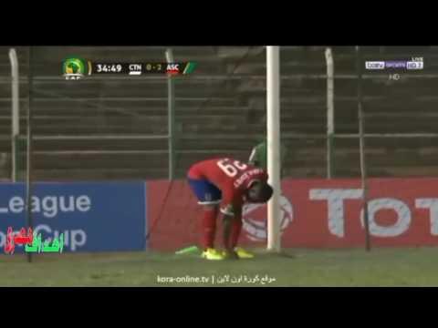 اليمن اليوم- بالفيديو  ملخص مباراة الأهلي والقطن الكاميروني 20