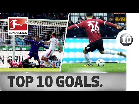 اليمن اليوم- أفضل 10 أهداف لفريق هانوفر الصاعد للبوندزليغا