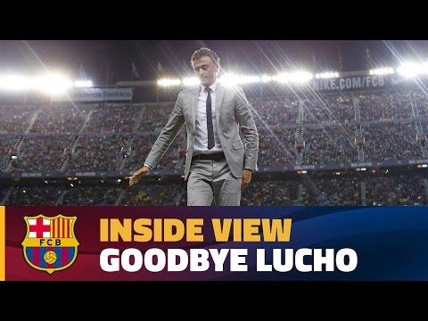 اليمن اليوم- وداع جماهير برشلونة للمدرب لويس انريكي