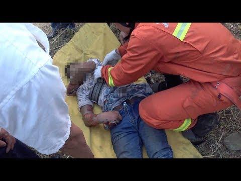 اليمن اليوم- بالفيديو مراهق كاد يفقد حياته بصعقة كهربائية