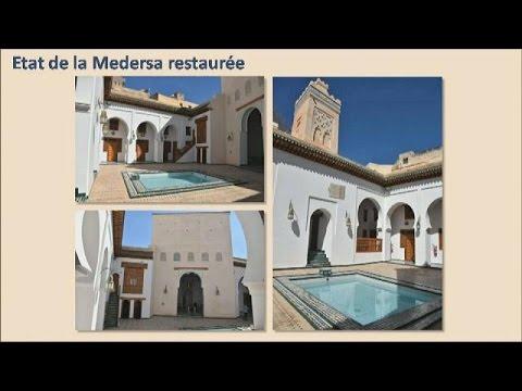 اليمن اليوم- بالفيديو تجديد مدارس تاريخية بجامعة القرويين العريقة