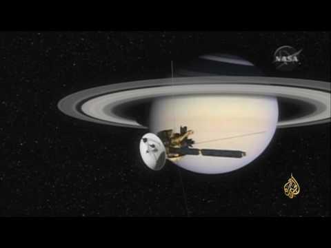 اليمن اليوم- شاهد المركبة الفضائية كاسيني تنهي مهمتها إلى كوكب زحل
